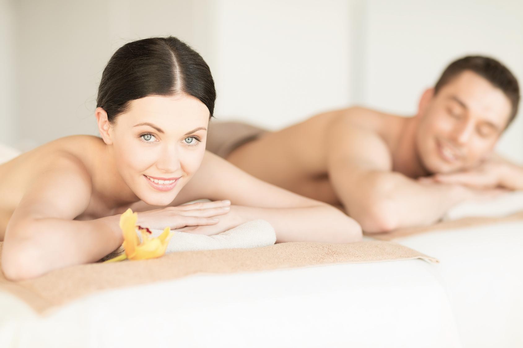 odprężający masaż dla par