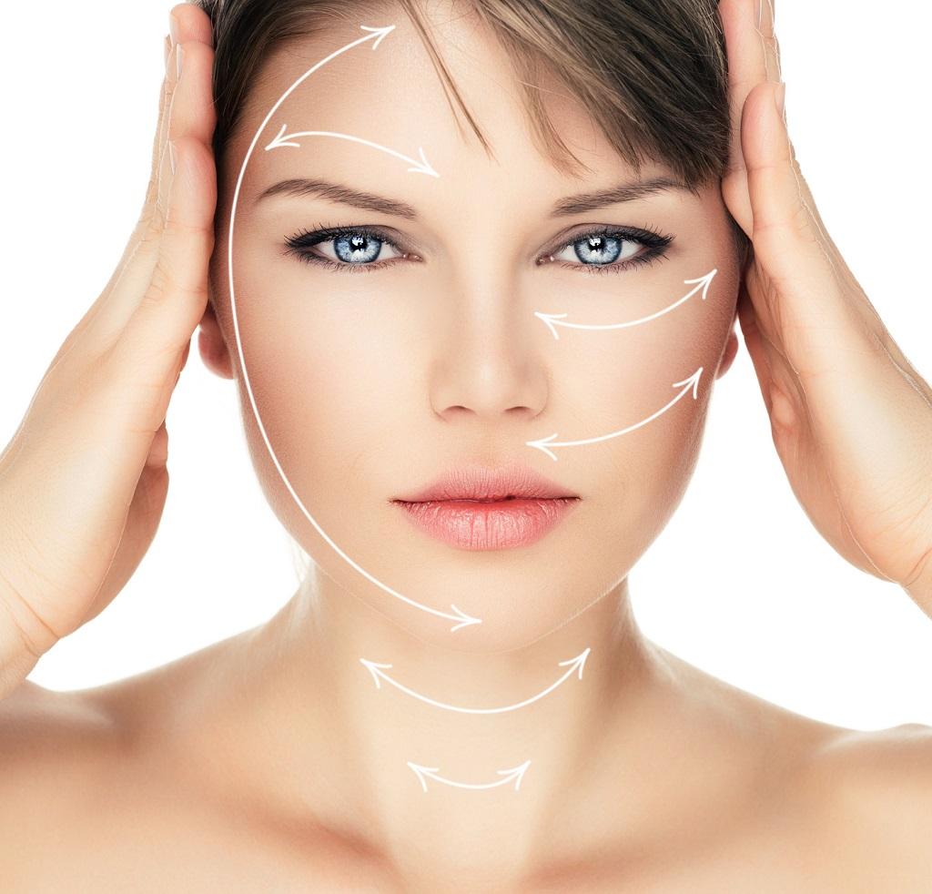 peeling laserowy twarzy u pacjentki