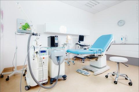depilacja laserowa lublin -pokój zabiegowy